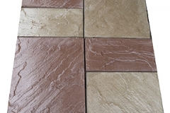 Riven Edge All 3 sizes:: Color Buff & Brown Mix