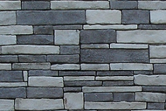 Ledgestone:  Color-Charcoal & Grey Mix