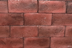 "Used Brick (4"" x 8""): Color-Red Tint"