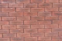 "Wall Brick (2.25"" x 8""): Color-RedTint"