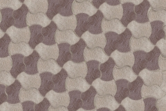 2 Color Alternating Weave Installation Pattern: Buff & Brown